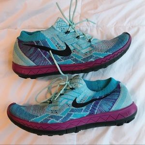 Nike running barefoot ride sneakers